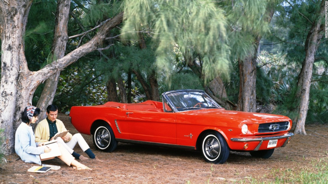 """The Ford Mustang was meant to appeal to Baby Boomers. It also created the """"pony car"""" class -- sports coupes with long hoods and small trunks."""