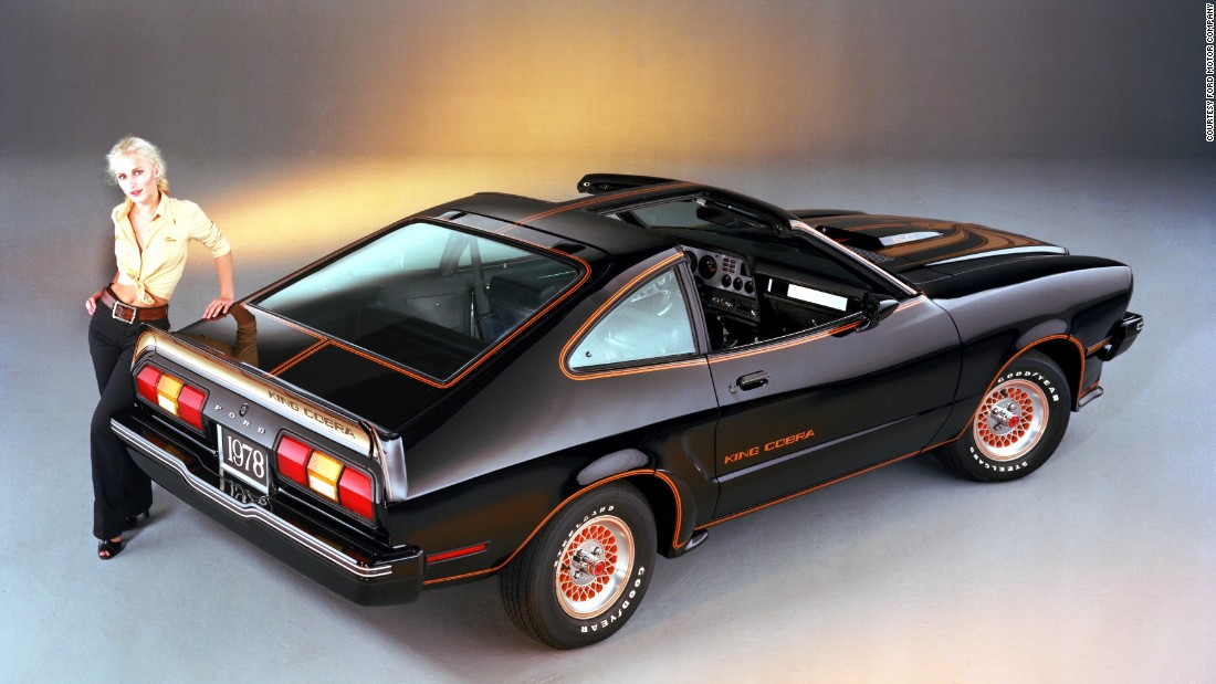 This 1978 Ford Mustang II King Cobra was a limited edition version. Only 4,313 were produced.