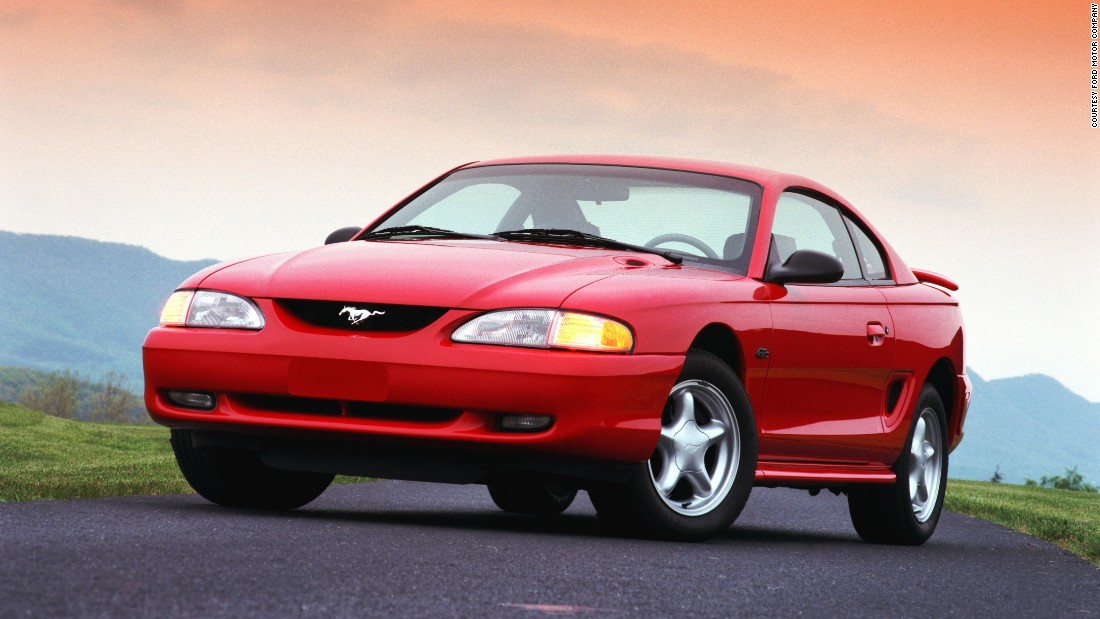 For its 30th anniversary in 1994, the Ford Mustang was dramatically restyled to evoke the car's heritage and performance tradition.