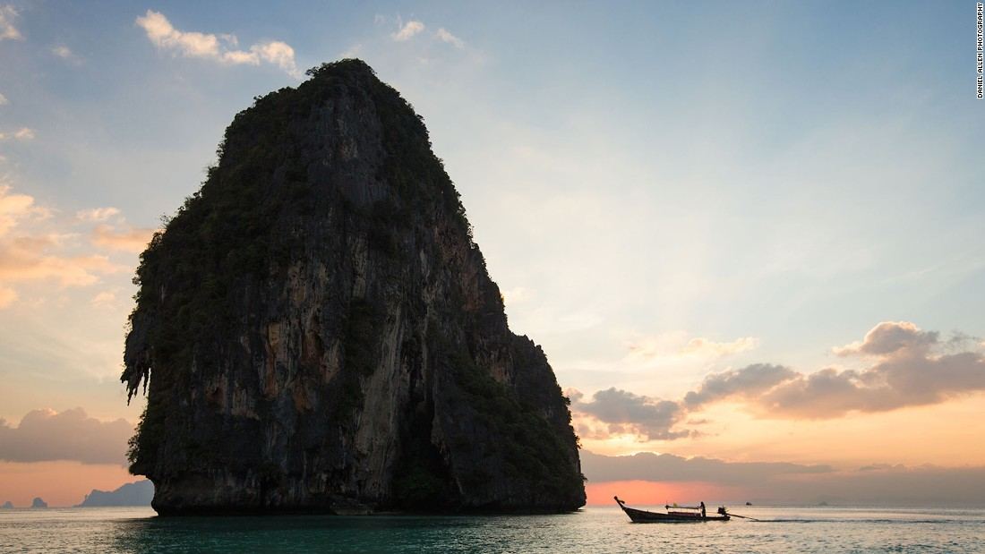 The Andaman Sea off Krabi is a huge aquatic playground. While numerous companies offer tours to famous sunbathing and snorkeling hangouts, those who charter their own long-tail get to choose when and where to drop anchor, guaranteeing seclusion and an undisturbed marine environment.