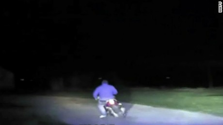 Man leads police on moped chase