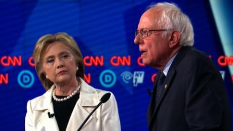 Bernie Sanders Israel Hillary Clinton_00000000