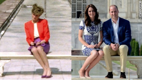 Royals' photo evokes memory of Princess Diana
