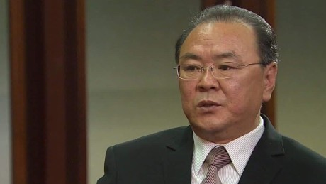 North Korean official calls Trump comments 'absurd'
