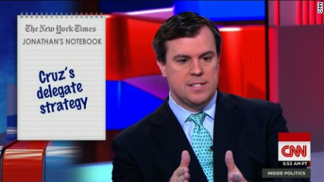 Cruz's delegate strategy