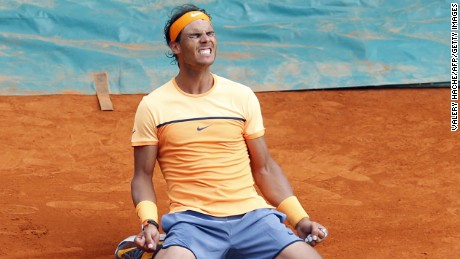 Winning his ninth Monte Carlo Masters crown clearly meant a lot to Spain's Rafael Nadal.