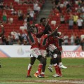 Kenya's players rugby sevens