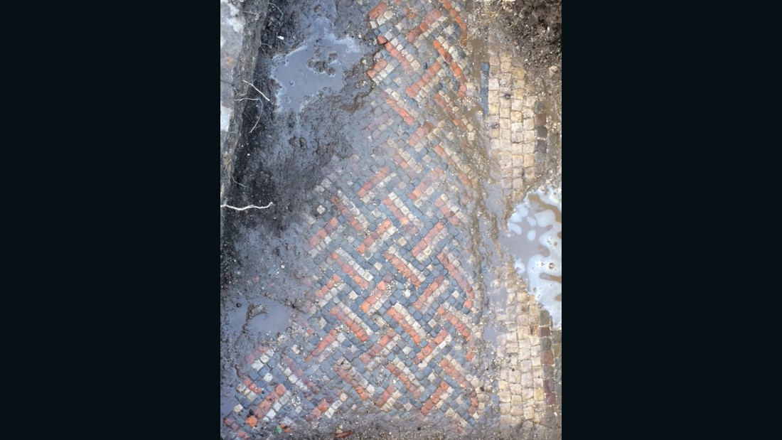 A grand Roman villa complex, undisturbed for more than 1,500 years, has been discovered on the grounds of a UK farmhouse after earthworks uncovered a well-preserved mosaic.