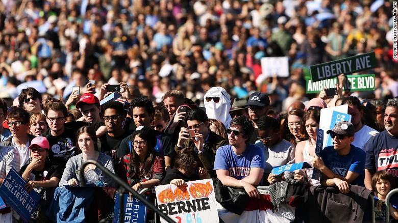Bernie or bust: a revolution in Philadelphia