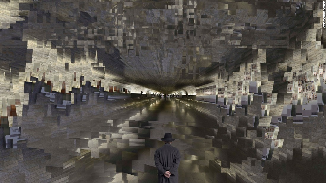 "Jean-Francois Rauzier developed the concept of the ""hyperphoto"" in 2002, a technique which involves digitally ""stitching"" hundreds of images together. Scroll through the images to hear about his work. <br />Horizons, 2015 -- ""This photograph was taken on the underground of the senate, so it's a very important building, but when I saw the senate it's like a movie theater or something. I didn't know what to do with it. So I shot everything and arranged the images in a very cubist style. You can zoom in on all the pictures of the presidents on the walls and I put in a map of Brazil. Brazil has a young democracy and there is a lot of trouble at the moment, so for me the map is a symbol of politics in Brazil."""