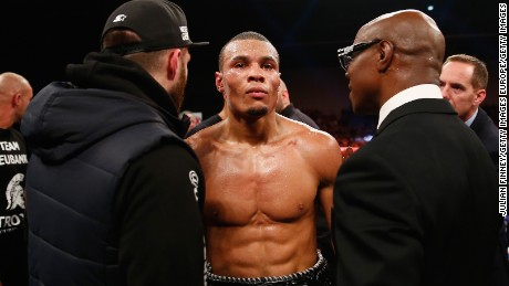 Chris Eubank Jr. is currently the British Middleweight champion, and ranked fourth in the world in the WBC Middleweight.