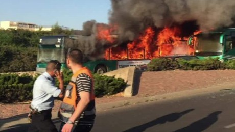 Hamas says a member of its military wing carried out the bombing of a Jerusalem bus on Monday.