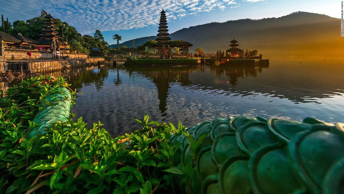 "Bali is best known for its beaches but it's also got a unique system of <a href=""http://edition.cnn.com/videos/travel/2016/01/20/60-second-vacations-bali-rice-fields-travel.cnn/video/playlists/travel/"">rice terraces</a> that are UNESCO protected."