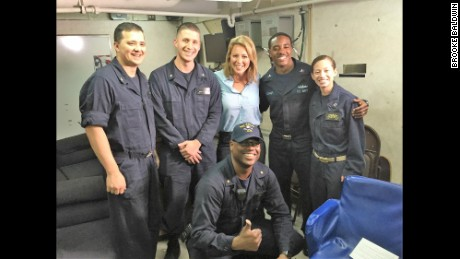 Brooke Baldwin and the navy women protecting the U.S. from ISIS