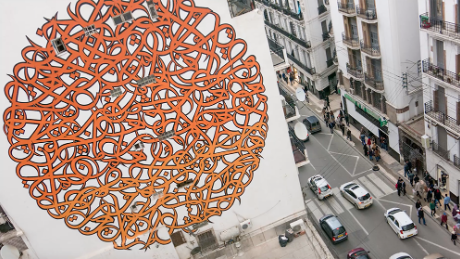 'Calligraffiti' murals will change how you see cities