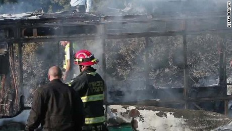 israeli police confirm device in bus fire liebermann_00001307