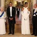 Queen Elizabeth II and Barack Obama