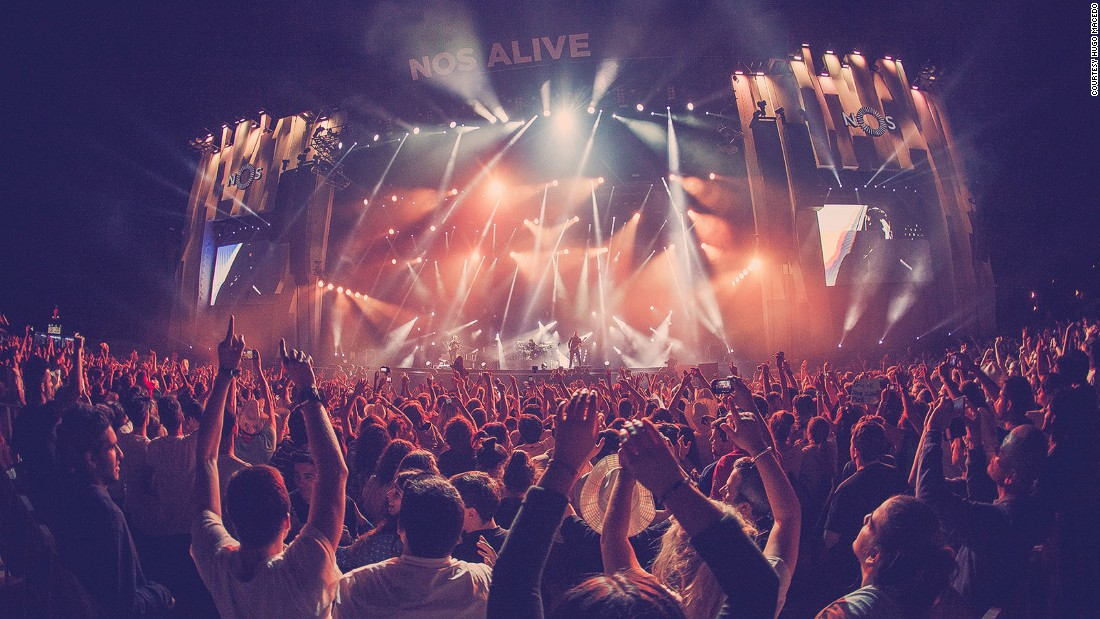 <strong>NOS Alive, Lisbon, Portugal, July 6-8: </strong>A treat composed of the biggest names -- the Foo Fighters and Depeche Mode are two of the headline acts -- as well as the coolest bands of the year.