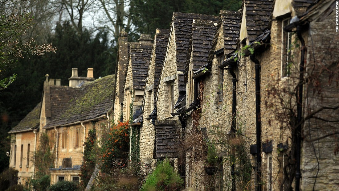 "Considered one of the prettiest villages in England, <a href=""https://sites.google.com/site/castlecombewiltshire/"" target=""_blank"">Castle Combe<em> </em></a> welcomed a spark of interest from tourists after it was used as a filming location for Steven Spielberg's ""War Horse"" in 2011."