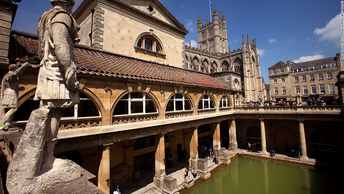 "The Somerset city of Bath was inscribed a UNESCO World Heritage Site in 1987. It's known for its <a href=""http://www.romanbaths.co.uk/"" target=""_blank"">Roman baths</a> -- the only place in England for a natural thermal spa -- and Georgian architecture."