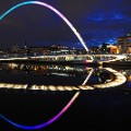 Beautiful England 43 Gateshead Millennium Bridge
