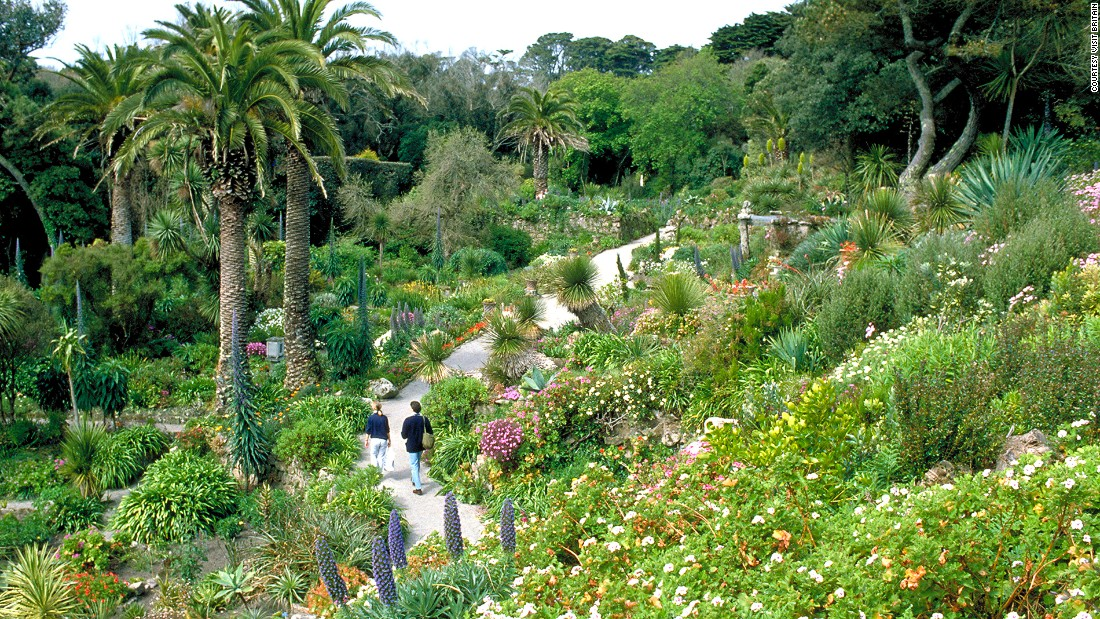 "<a href=""http://www.tresco.co.uk/enjoying/abbey-garden/"" target=""_blank"">Abbey Garden</a> is a tropical-style paradise with plant species from more than 80 countries -- from Brazil to South Africa to Australia. The wild garden experiment began when Augustus Smith moved to and became the owner of <a href=""http://www.tresco.co.uk/arriving/overview/"" target=""_blank"">Tresco</a>  Island, 28 miles off the coast of southwestern Cornwall in 1834. The garden has continued to expand with the help of Smith's descendants."