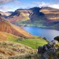 Beautiful England 11 Scafell Pike and Wastwater in Wasdale Valley