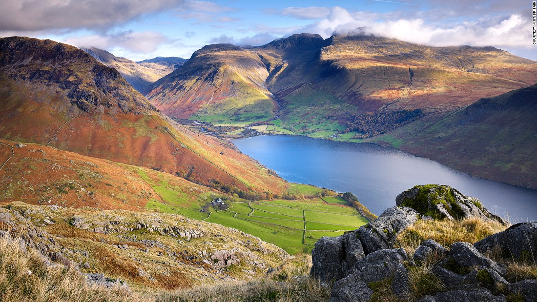"At 978 meters, Scafell Pike isn't only the highest mountain in England, it also offers the best views of the unspoiled <a href=""http://www.visitcumbria.com/wc/wasdale/"" target=""_blank"">Wasdale Valley</a> and Wastwater -- the deepest lake in England. On a clear day Scotland, Wales, Ireland and the Isle of Man can be seen from the hilltops."