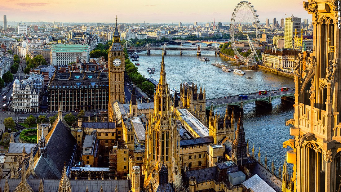 The UK capital is chock-a-block with photo opportunities involving red buses, red phone boxes and black cabs, as well as world-famous Big Ben and the London Eye.