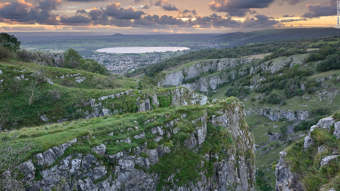 "As the biggest gorge in Britain, <a href=""http://www.cheddargorge.co.uk/"" target=""_blank"">Cheddar Gorge</a> is home to some of the country's most dramatic cliffs and rarest animals -- like ancient Soay sheep. It's listed as an Area of Outstanding Natural Beauty."