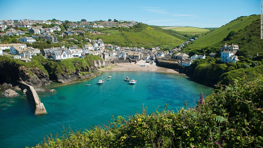 "Port Isaac is a small scenic fishing village in the northern part of Cornwall. It's also the birthplace of <a href=""http://www.thefishermansfriends.com/"" target=""_blank"">Fisherman's Friends</a>, a singing group that specializes in sea shanties -- another reason to love the place."