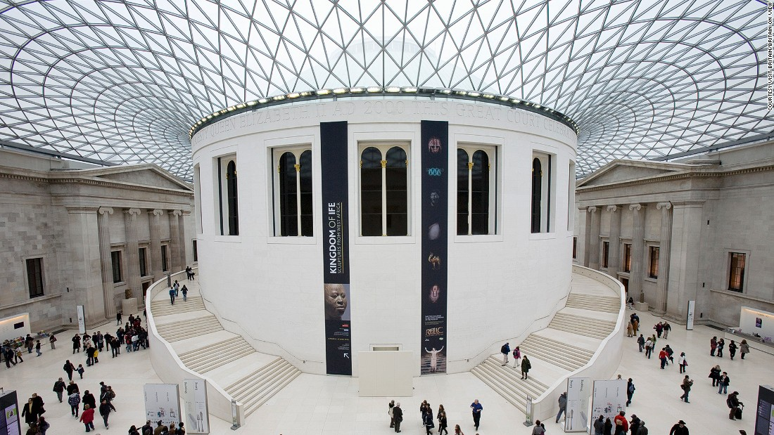 "Founded in 1753, <a href=""http://www.britishmuseum.org/"" target=""_blank"">The British Museum</a> was the world's first national public museum. Today, it's still easily one of the best galleries around the globe. It has a collection of eight million pieces -- only 1% of which is on display. The signature Grand Court was designed by Norman Foster and was opened in 2000."