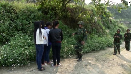 Police save girls from trafficking in Vietnam
