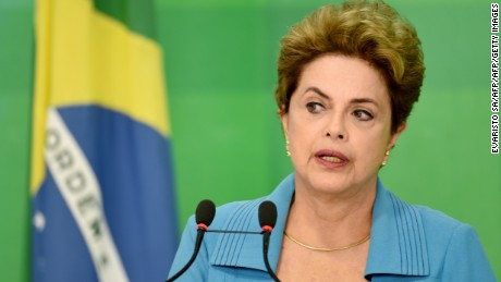 Brazilian President Rousseff vows to fight impeachment