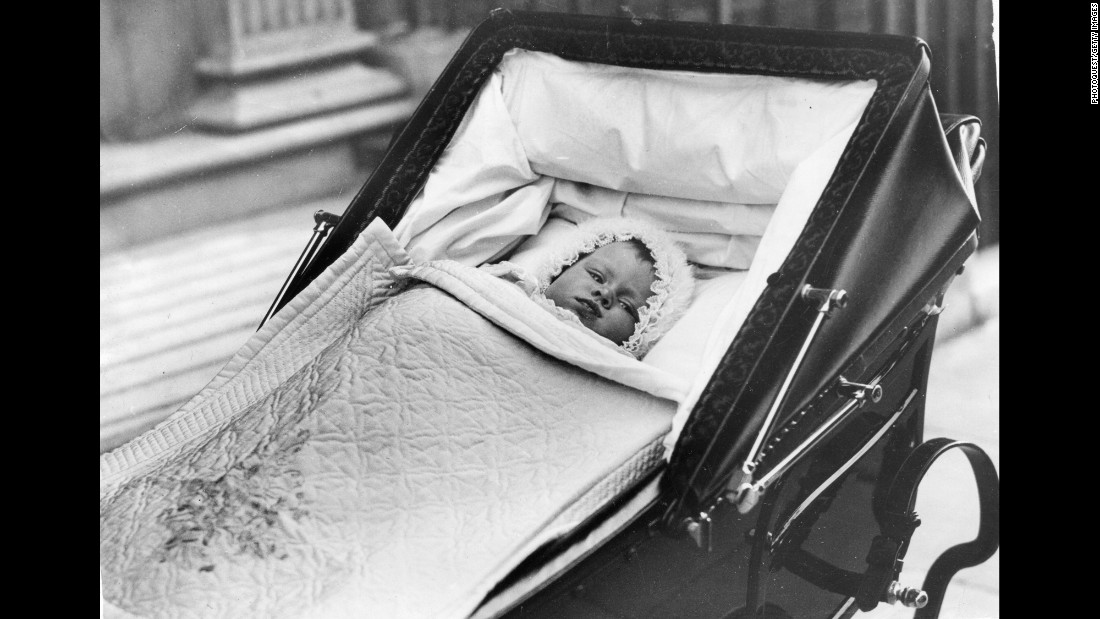 Princess Elizabeth at 6 months old.