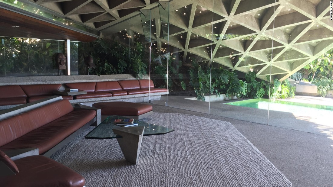 "The concrete, wood and steel-built living room of the Sheats Goldstein residence has been featured in several films, including ""The Big Lebowski"" and ""Charlie's Angels"" -- as well as the Snoop Dogg and Pharrell Williams video for ""Let's Get Blown."""