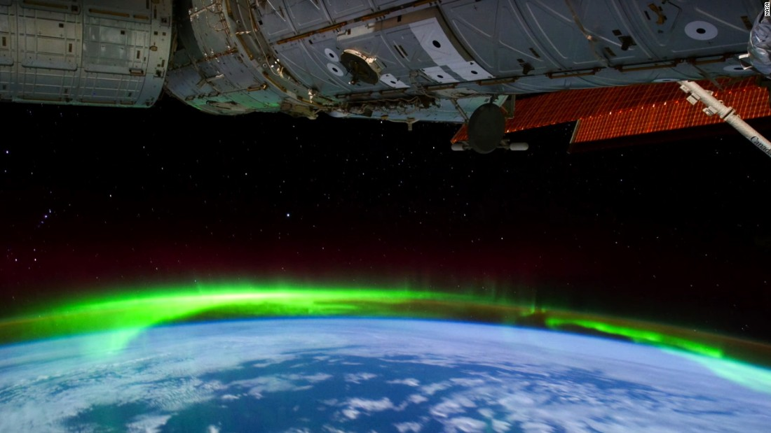 NASA shares stunning video of Northern Lights - CNN.com