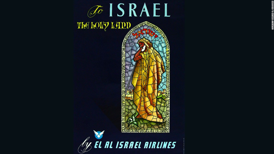 Goldman says he's smitten with the airline partly because of the many airlifts El Al has performed for both Jewish and non-Jewish refugees.