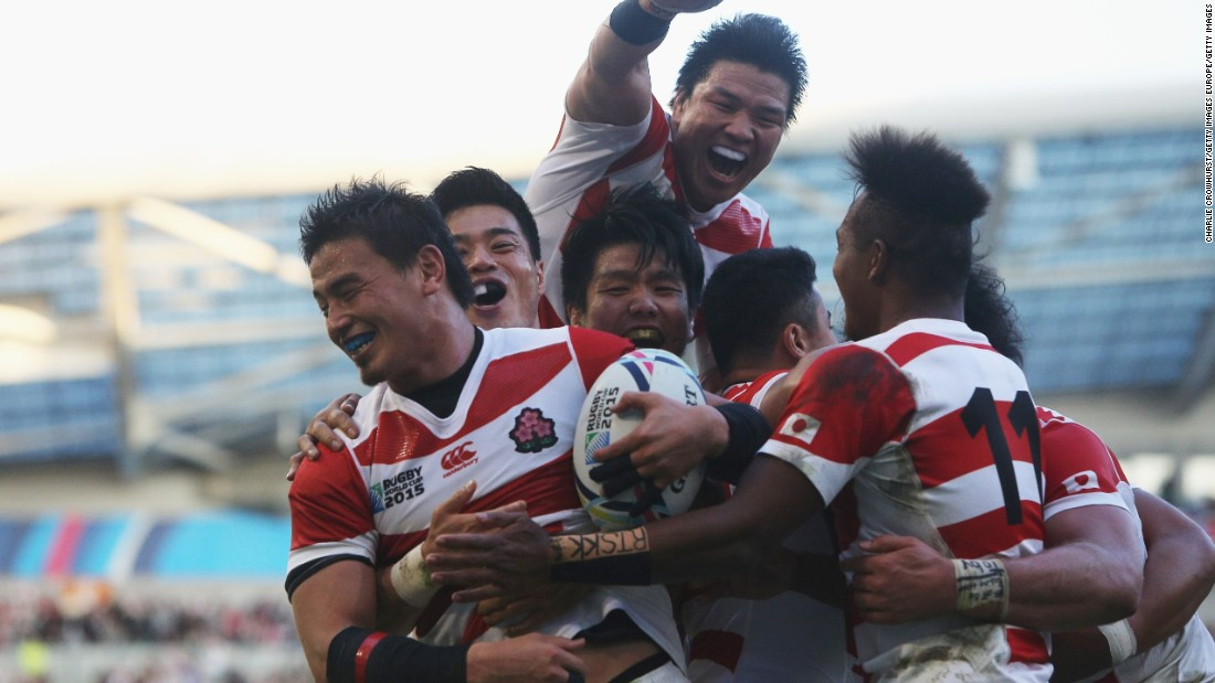 Japan, which hosts the next World Cup in 2019, is a case in point. Rugby's popularity there spiked after the Cherry Blossoms shocked South Africa at last year's tournament in England.
