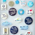 EL AL badges