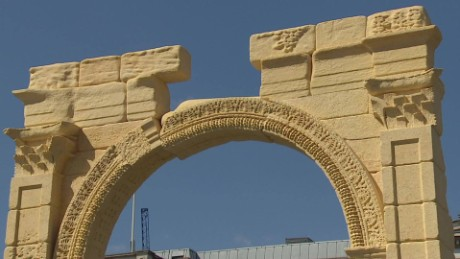 Palmyra's Arch of Triumph printed in 3D