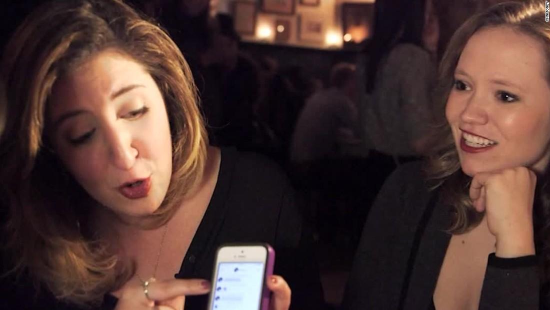 The Dating App Where Women Message First Cnn Video