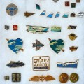 EL AL pins from Marvin Goldman's collection