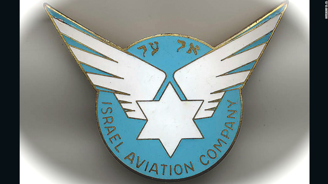 One of the rarest items in Goldman's collection is a badge for the first ever captain's hat design, released when the airline launched in 1949.