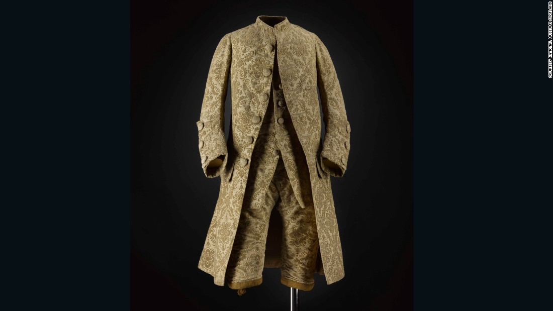 This silk velvet suit was for a little boy, and may have belonged to the son of Thomas Hamilton, 7th Earl of Haddington. <br /><br />Children's dress at this time is particularly interesting as until the late 18th century, children of the upper classes were dressed to imitate their parents. Seeing the extravagant adult male fashions of the mid-18th century in miniature is fascinating. <br /><br />It's hard for us to imagine today, but it wasn't until the time of the Enlightenment that children's dress emerged as a distinct type.