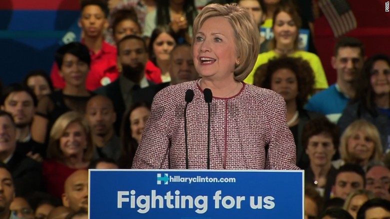 Hillary Clinton: New York win is personal