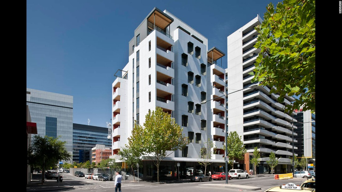 The Forte is a building in Melbourne that was completed in 2012. It is built entirely of wood.