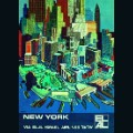 el al poster 'New York' by Peri Rosenfeld