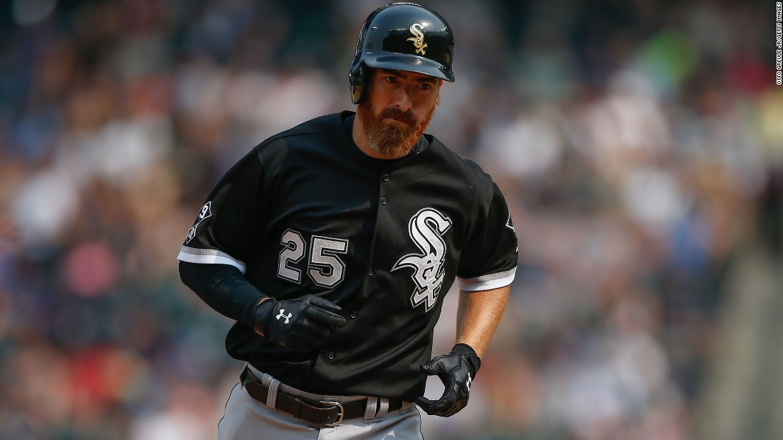"Chicago White Sox designated hitter Adam LaRoche abruptly retired during spring training when the organization told him his his son Drake couldn't be in the clubhouse as often as he was last season, which the White Sox said was ""100%"" of the time. LaRoche, 36, left a reported $13 million on the table by retiring."