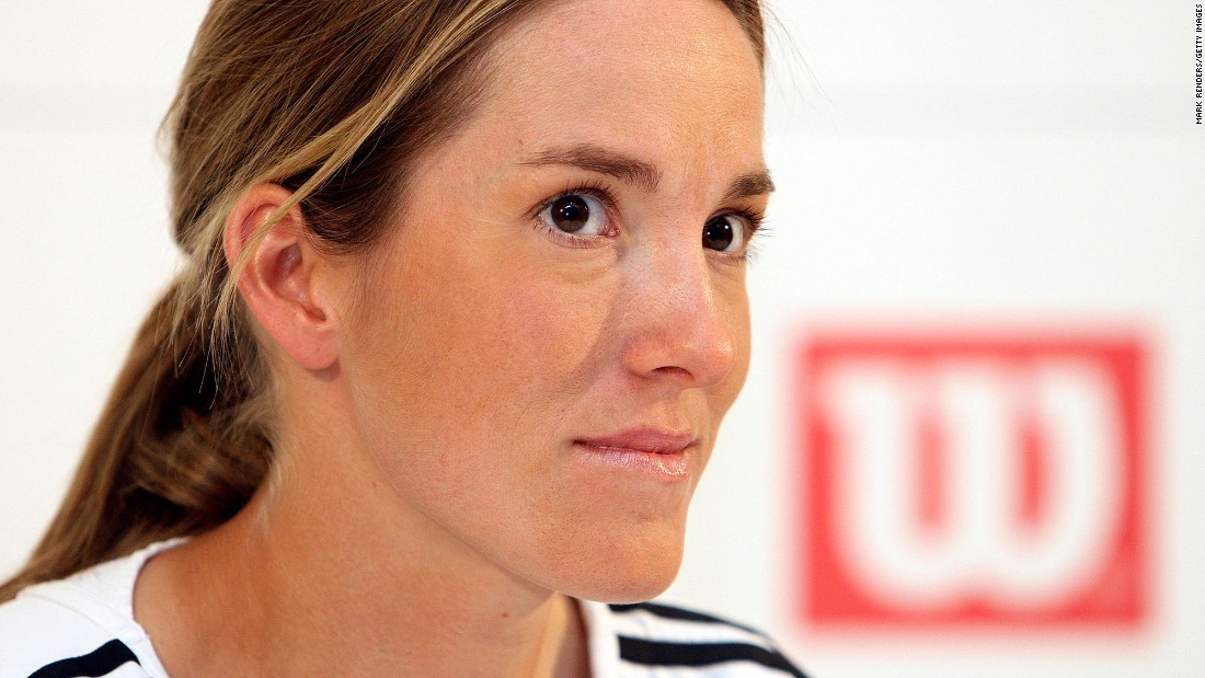 "Women's tennis star and then-world No. 1 Justine Henin announced her retirement to the press on May 14, 2008, in Limelette, Belgium, at age 25. ""It's the end of a wonderful adventure, but it's something I have been thinking about for a long time,"" Henin said. Henin, who won seven Grand Slam singles titles, returned to the WTA in 2010 before retiring for good in 2011."